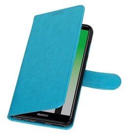 Huawei P20 Wallet case booktype wallet Turquoise