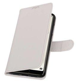 Huawei P20 Pro Wallet Fall Booktype Brieftasche Weiß