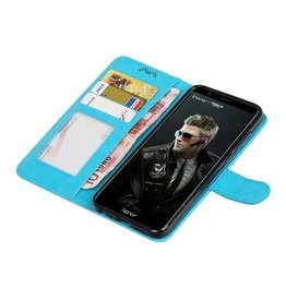 Huawei P Smart Wallet booktype wallet case Turquoise