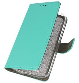 Bookstyle Wallet Cases Cover for Nokia 1 Green
