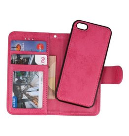 Backcase Bookhoesje voor iPhone 5 Roze