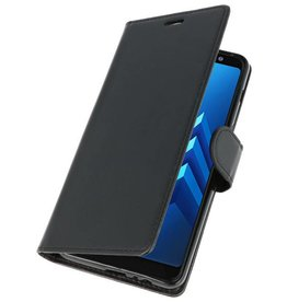 Wallet Cases Case for Galaxy A8 Plus (2018) Black
