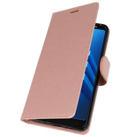 Wallet Cases Case for Galaxy A8 Plus (2018) Pink