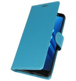 Wallet Cases Case for Galaxy A8 Plus (2018) Turquoise