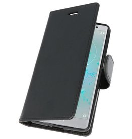 Wallet Cases Case for Xperia XZ2 Compact Black