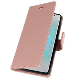 Wallet Cases Case for Xperia XZ2 Compact Pink