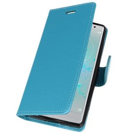 Wallet Cases Case for Xperia XZ2 Compact Turquoise