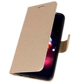Wallet Cases Case for LG K10 2018 Gold