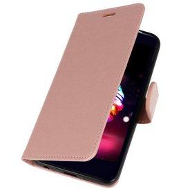 Wallet Cases Case for LG K10 2018 Pink
