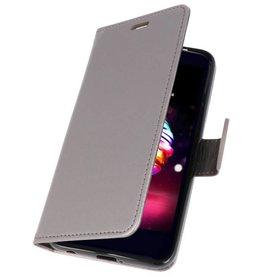 Wallet Cases Case for LG K10 2018 Gray