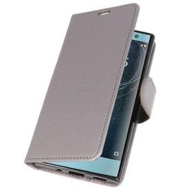Wallet Cases Case for Xperia XA2 Gray