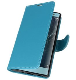Wallet Cases Case for Xperia XA2 Turquoise