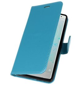 Wallet Cases Case for Xperia XZ2 Turquoise