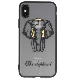 Tiere TPU Hüllen für iPhone X Elefant