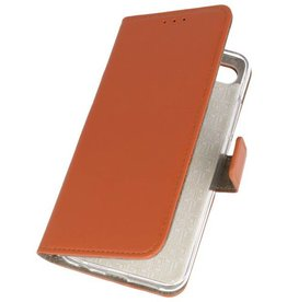 Bookstyle Wallet Cases Hoes for Honor 10 Brown