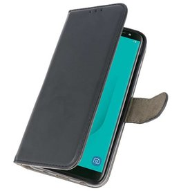 Bookstyle Wallet Cases Case for Galaxy J6 2018 Black