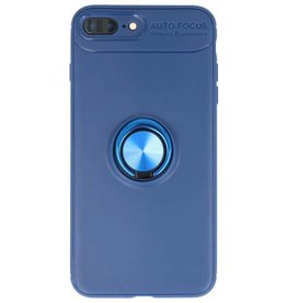 Softcase for iPhone 8/7 Plus Case with Ring Holder Navy
