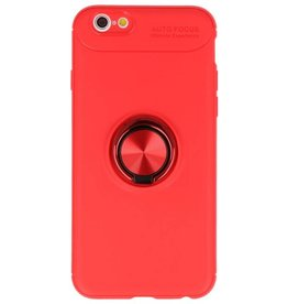 Softcase for iPhone 6 Case with Ring Holder Red