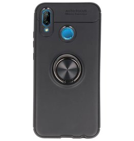 Soft case for Huawei P20 Lite Case with Ring Holder Black