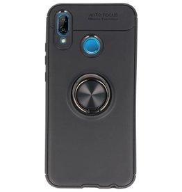 Soft Case für Huawei P20 Lite Case mit Ringhalter Schwarz