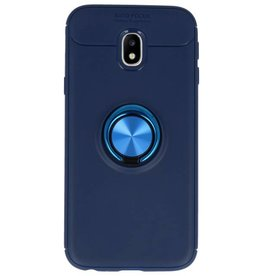 Softcase for Galaxy J3 2017 Case with Ring Holder Navy