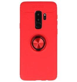 Soft Case für Galaxy S9 Plus Hülle mit Ringhalter Rot