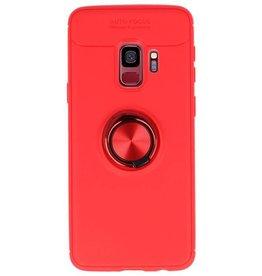 Softcase für Galaxy S9 Case mit Ringhalter Rot