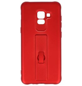 Carbon series case Samsung Galaxy A8 2018 Red