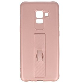 Carbon series case Samsung Galaxy A8 2018 Pink