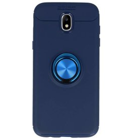 Softcase for Galaxy J5 2017 Case with Ring Holder Navy