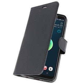 Wallet Cases Tasche für HTC Desire 12 Plus Schwarz