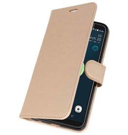 Wallet Cases Case for HTC Desire 12 Plus Gold