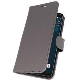 Wallet Cases Tasche für HTC Desire 12 Plus Grey