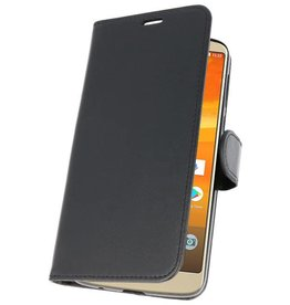 Wallet Cases Hoesje voor Moto E5 Plus Zwart