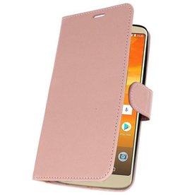 Etui Hülle für Moto E5 Plus Pink