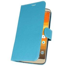Wallet Cases Moto E5 Plus Turquoise Case