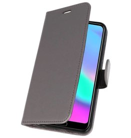 Wallet Cases Case for Honor 10 Gray
