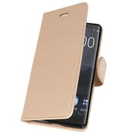 Wallet Cases Case for Nokia 8 Sirocco Gold