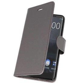 Wallet Cases Case for Nokia 8 Sirocco Gray