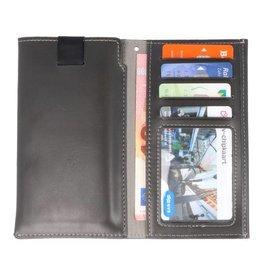 Plug-in Wallet Hüllen für iPhone X Schwarz