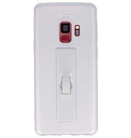 Carbon-Serie Gehäuse Samsung Galaxy S9 Silber