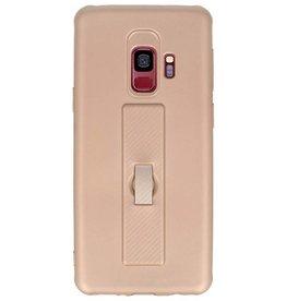 Carbon-Serie Gehäuse Samsung Galaxy S9 Gold