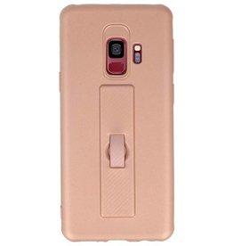 Carbon-Serie Tasche Samsung Galaxy S9 Pink