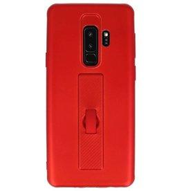 Carbon-Serie Tasche Samsung Galaxy S9 Plus Rot