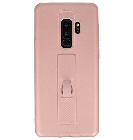 Carbon-Gehäuse Samsung Galaxy S9 Plus Pink