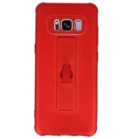 Carbon-Serie Gehäuse Samsung Galaxy S8 Rot