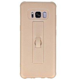 Carbon-Serie Gehäuse Samsung Galaxy S8 Gold