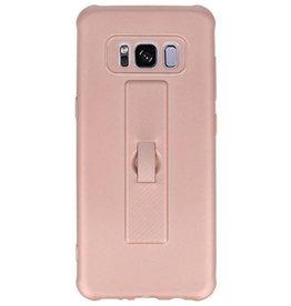 Carbon series hoesje Samsung Galaxy S8 Roze
