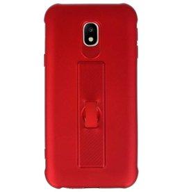 Carbon series case Samsung Galaxy J3 2017 Red