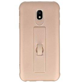 Carbon-Serie Gehäuse Samsung Galaxy J3 2017 Gold